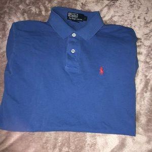 Blue Polo Ralph Lauren Short Sleeve Shirt